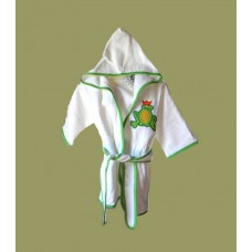 Hooded Terry Robes /Frogs