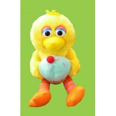 Sesame Street Plush Characters /Foodies /Big Bird Holding Cupcake