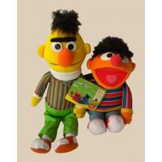 Sesame Street Plush Characters /Bert and Ernie