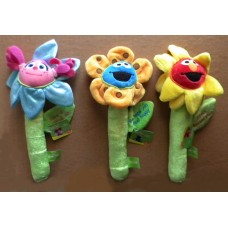 Sesame Plush Flowers