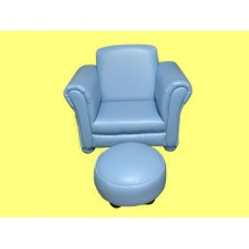 Chair W/Ottoman /PINK or BLUE