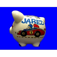 Large Piggy Banks  /RACE CAR