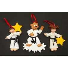 Karate Ornaments