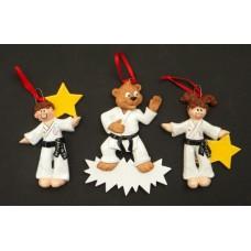 Karate Ornaments