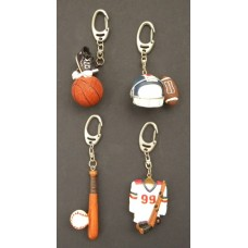 Sports Key Chain Holders /Various