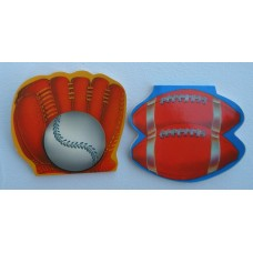 Note Pads /Baseball or Football