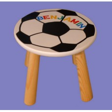 "Flat Stools: ""Basketball"" or ""Soccer"""