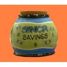 """Storage Jars /""""Senior Savings"""""""