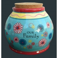 """Storage Jars /""""Our Family"""""""