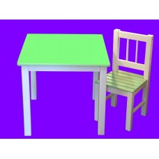 Tables & Slat-Chairs Sets