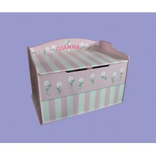 "Toy Boxes /""Stripes & Flowers"""