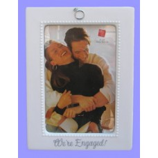 "Engagement Picture Frames /""We're Engaged!"""