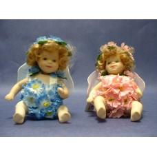 """Porcelain Dolls """"Flower-Fairy Dolls"""""""
