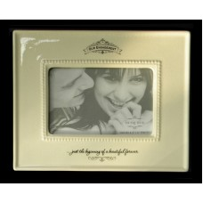"""""""Just the beginning of a beautiful forever""""  /Our Engagement  /Picture Frames"""