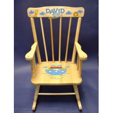 Rocking Chairs /Medium Natural Rocker /NOAH'S ARK