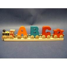 Name Trains Alphabet Letters