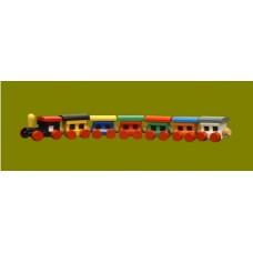 Trains /7-pc./Wood