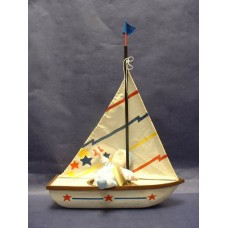 Sailboats /Wood with Sail