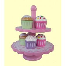 Cupcake Stands /Wood Playset