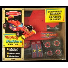 Wooden Mighty Builders Race Car