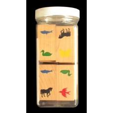 Wooden Animal Dominoes